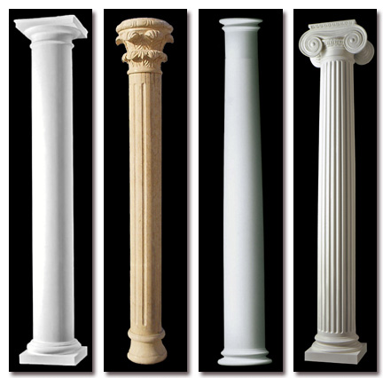 کامپوننت ستون و سرستون و نما رومی و کلاسیک برای اسکچاپ
