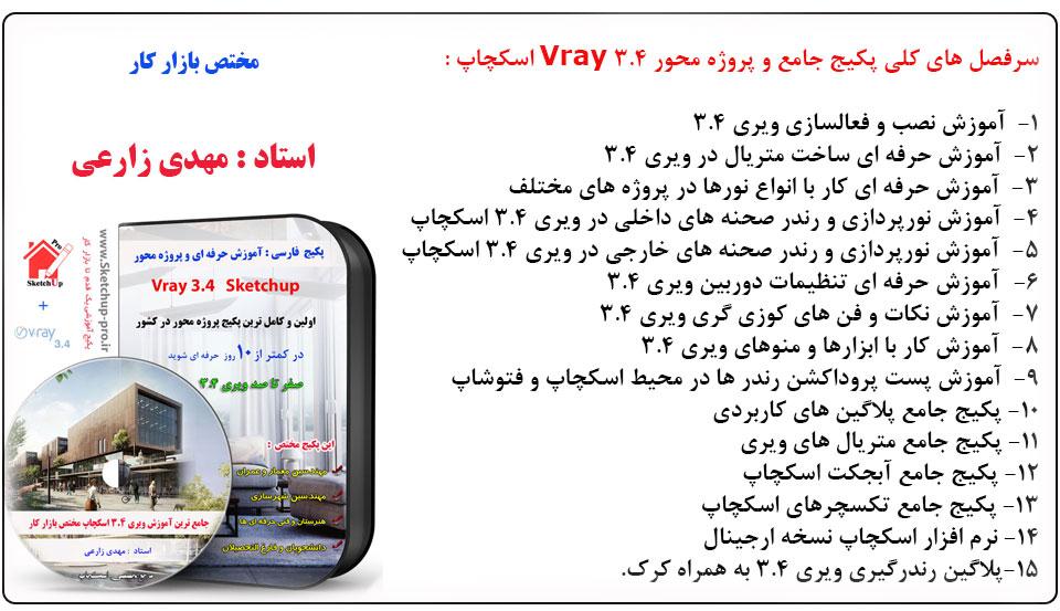 آموزش فارسی ویری 3.4 اسکچاپ